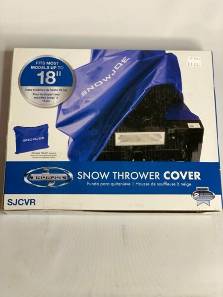 Snow Joe 18-IN Universal Single Stage Snow Thrower Protective Cover *NEW*