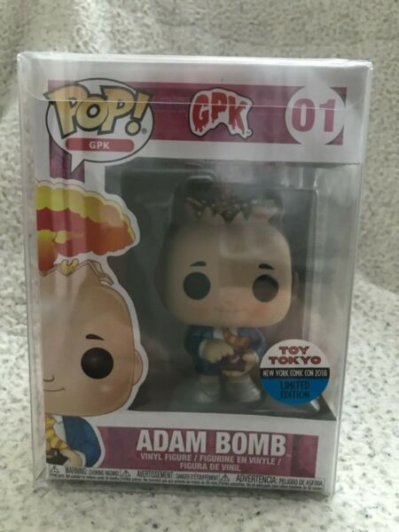 Funko Garbage Pal Kids Adam Bomb Toy Tokyo Exclusive Pop Vinyl