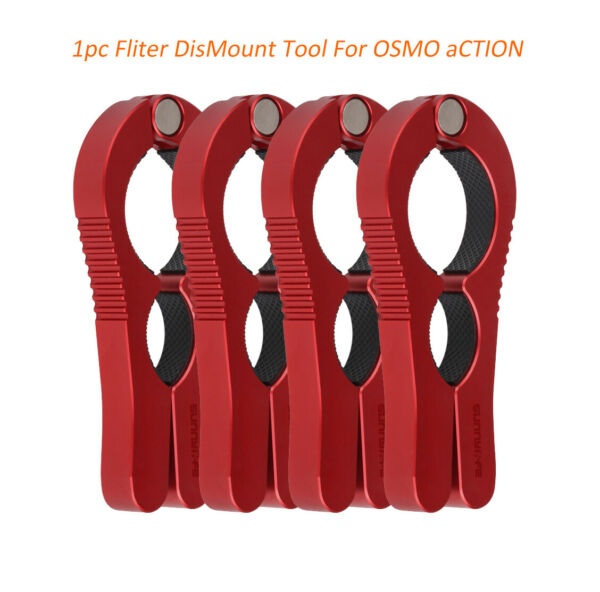 For DJI OSMO Action Dismount Camera Lens Cover Filter Tool Clamping D30-D45mm
