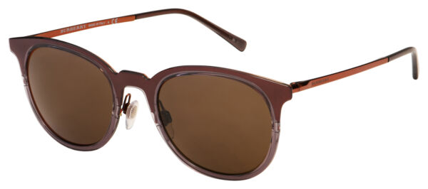 Burberry Sunglasses BE 3093 12495W 52 Brown Frame Brown Lens $84.99