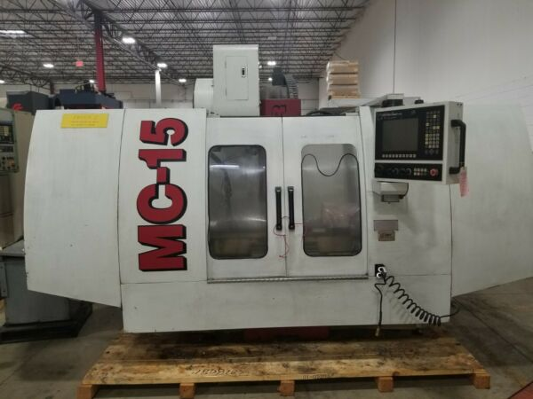 Used 2009 Fryer MC-15 CNC Vertical Machining Center Mill Anilam 6000i Auger CT40