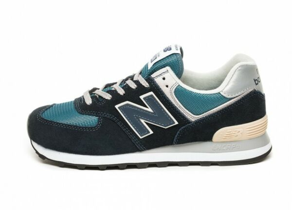 NEW BALANCE MENS CLASSIC TRADITIONALS ML574ESS-ESS NAVY/SEA GREEN/GREY