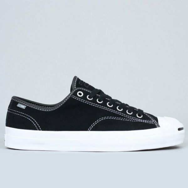 Converse - Jack Purcell Suede Low Top - JP PRO OX (Black / White) 159508C msrp80