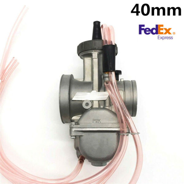 1X (USA Stock) 40mm Carburetor for Motorcycle Scooter Fit for Suzuki Kawasaki