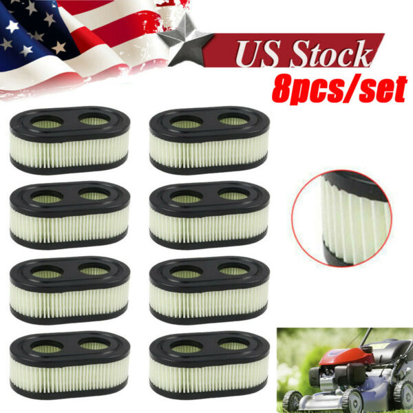 10x Lawn Mower Air Filter For Briggs & Stratton 798452 5432K 593260 4247 09P702