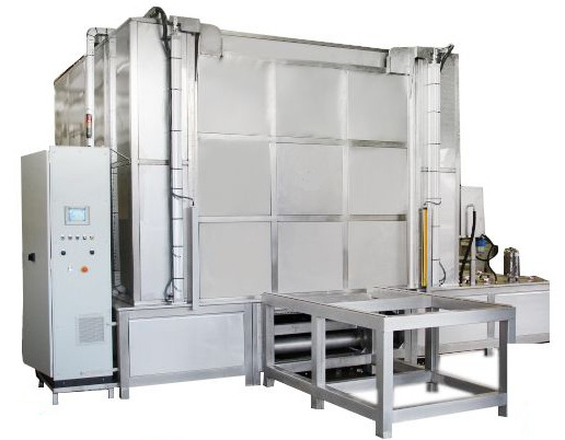 Spray Washing Rinsing And Drying 70 Inch Turn Table