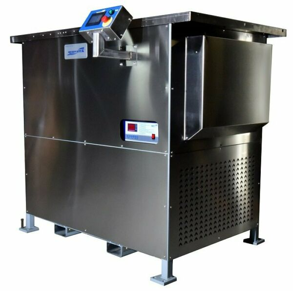 Two Stage Ultrasonic Vapor Degreaser Refrigeration Cooled 80 Gallon