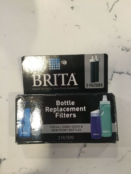 Brita Filter BB06 2 Pack Water Bottle Replacement Filters Fits Hard Sided