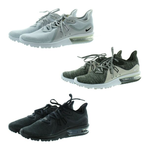 Nike 921694 Men's Air Max Sequent 3 Athletic Active Low Top Shoes Sneakers