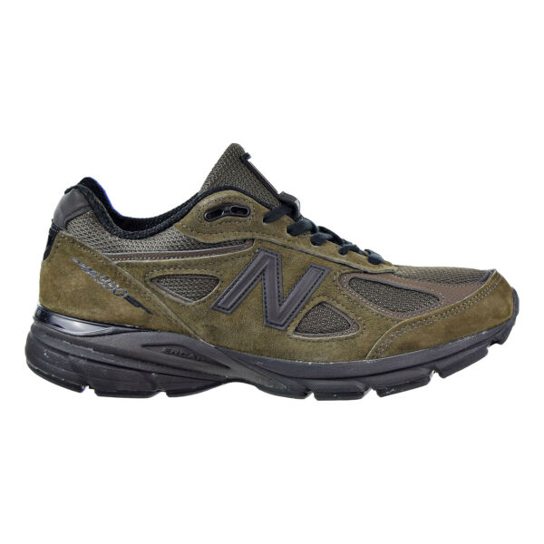 New Balance 990v4 Men's Shoes Military Green Made in USA M990MG4