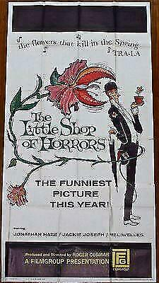 CUT 50!! LITTLE SHOP OF HORRORS '60 3 SH ~ MAN-EATING PLANT! ~ EARLY NICHOLSON!