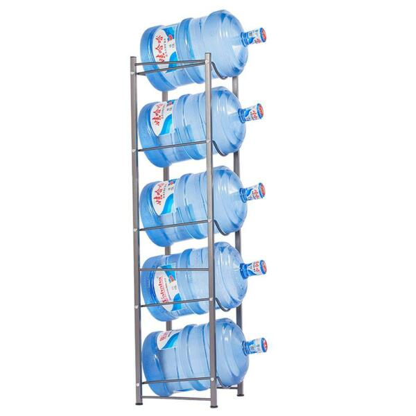 5 Layer Water Bottle Storage 5 Gallon Buddy Rack Shelf System Home Office
