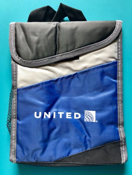 UNITED AIRLINES LUNCH BAG