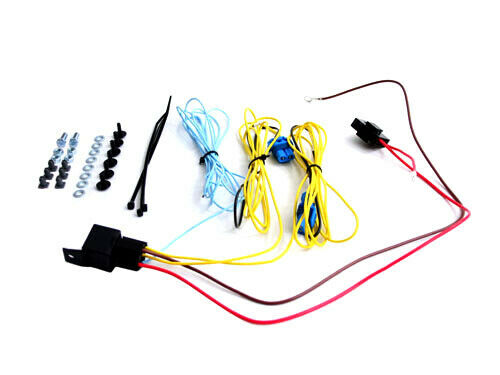 FOG LIGHT WIRING HARNESS KIT - 9006 - FOR VW GOLF JETTA MK5 MK6 PASSAT B6 CC