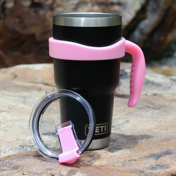 Handle and Lid for 30 oz. Tumbler - Fits YETI Rambler Legacy RTIC Ozark Trail
