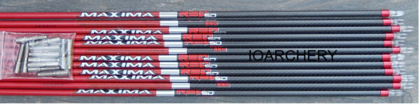 Carbon Express Maxima Red SD Shafts $81.00