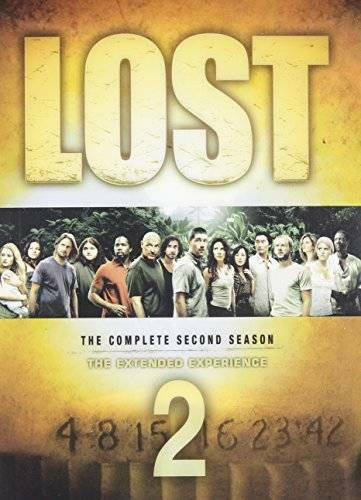 Lost - The Complete Second Season - DVD - VERY GOOD