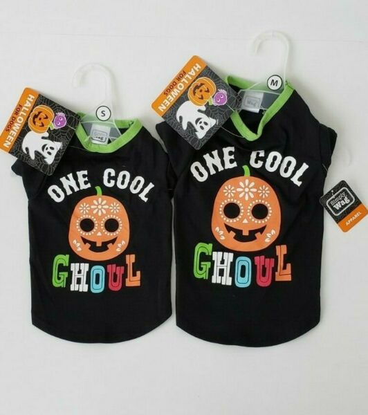 Simply Wag Halloween for Dogs quot;One Cool Ghoulquot; Small and Medium $10.25