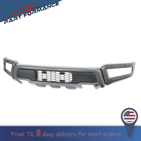 Raptor Style Steel Front Bumper Assembly Kit For F 150 2018 2019 2020 $284.49