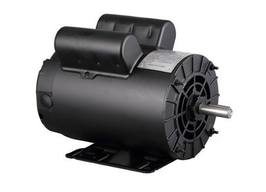 5HP SPL 3450RPM Air Compressor 60HZ Electric Motor 230Volt 1 Phase 58