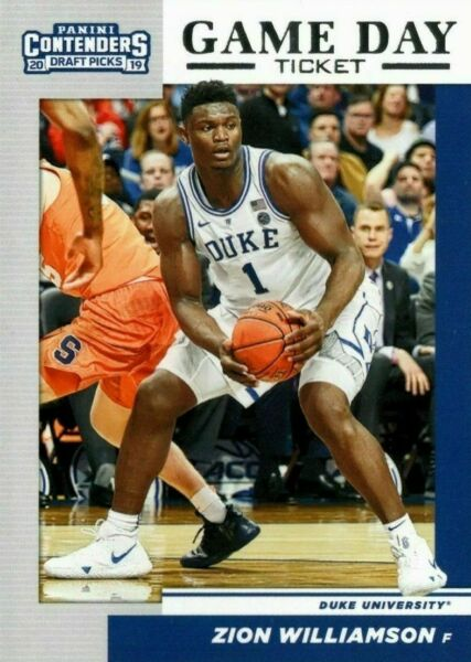 Buy1Get1Free 2019-20 PANINI CONTENDERS DRAFT PICKS GAME DAY TICKET You Pick zion