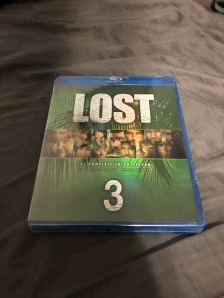 Lost - The Complete 3rd (third) Season on Blu Ray BRAND NEW 3 Tv ABC Series