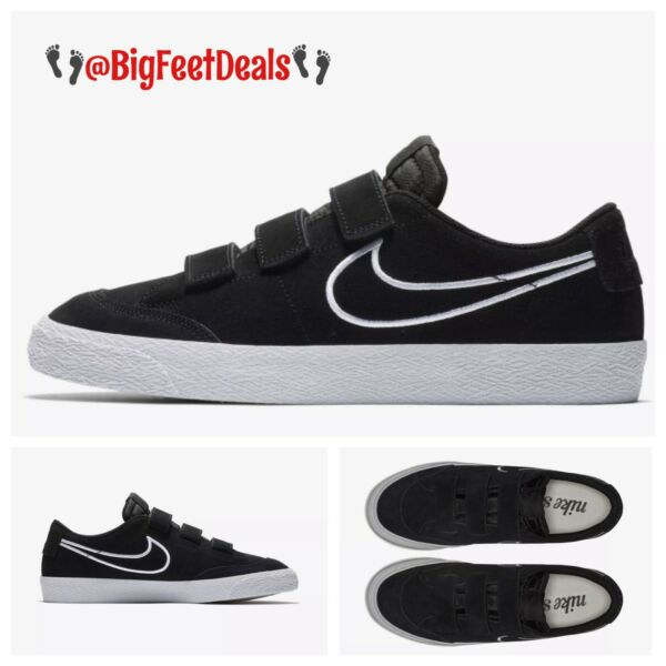 Nike Sz 14 SB Zoom Blazer Low AC QS Strap Black Air Force 1 Dunk Jordan Supreme
