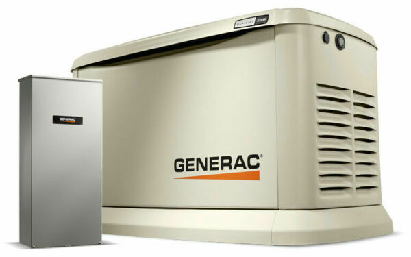 NEW Generac 7043 Standby Generator 22kw Guardian WiFi 200a Auto Transfer Switch