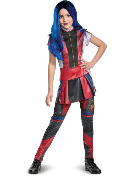 Childs Girl's Classic Disney Descendants 3 Evie Costume