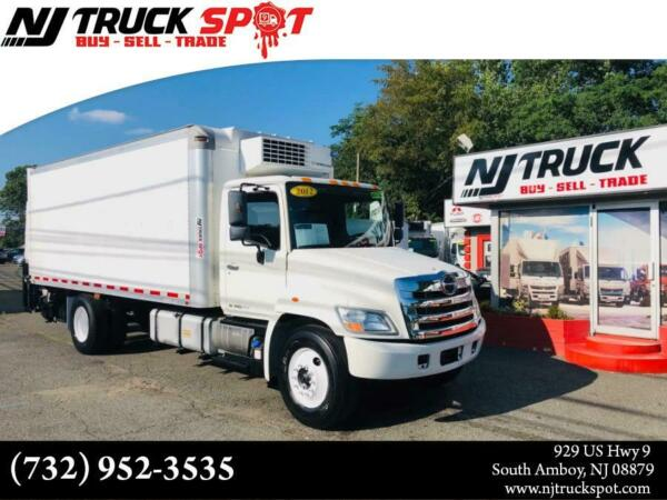 2012 HINO 268 20 FEET THERMO KING REFRIGERATED BOX + LIFT GATE 2012 HINO 268 20 FEET THERMO KING REFRIGERATED BOX + LIFT GATE 217828 Miles Whit