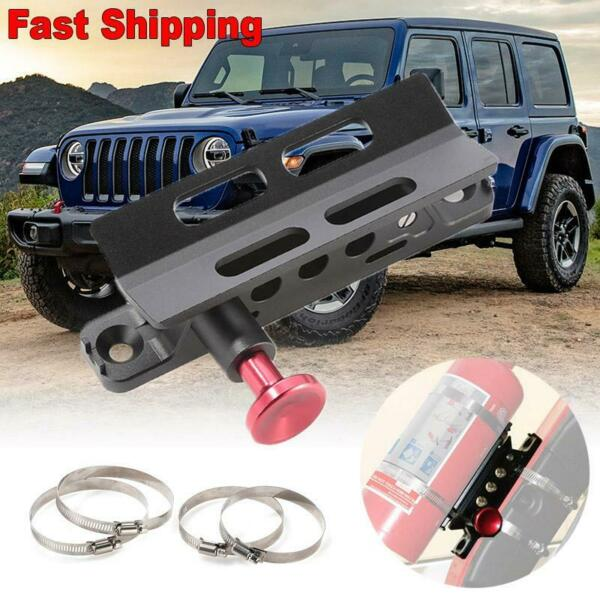 for Car Truck Auto Set Heavy Duty Fire Extinguisher Mounting Bracket Support