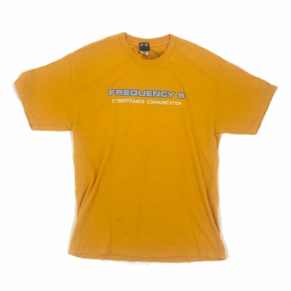 1990's FREQUENCY-8 'CYBERTRANCE' RAVE TEE
