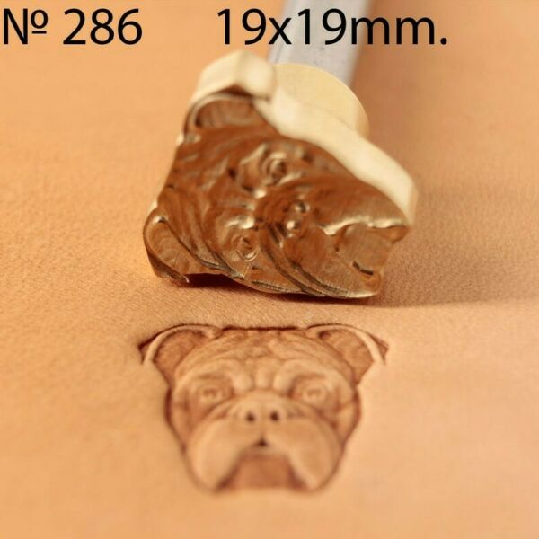 Dog Leather crafting stamp tool for leather crafts brass stamps #286 $23.99