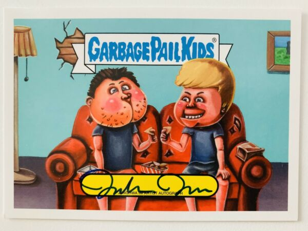2019 TOPPS Garbage Pail Kids We Hate The 90's Autograph Card JUNGHWA IM 1025