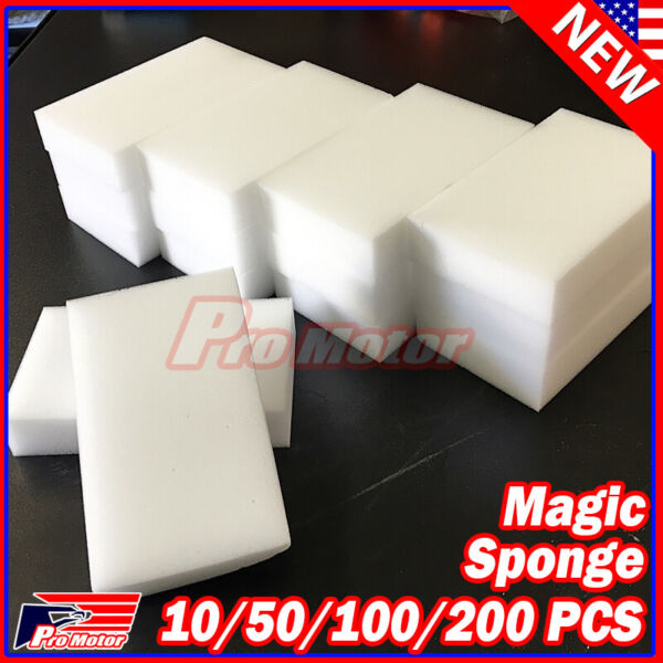 Bulk Lot Magic Sponge Eraser Melamine Cleaning Foam Thick Home Cleaning Tool