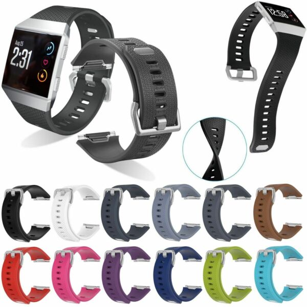 US New Replacement Sports Silicone Watch Band Strap Bracelet For Fitbit Ionic xi