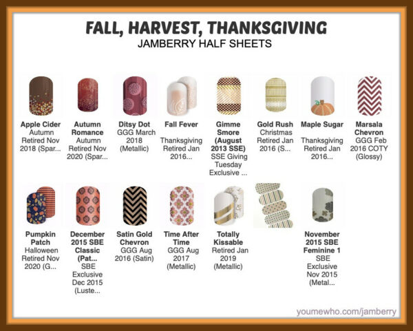 jamberry half sheets fall 🍁 harvest 🦃 thanksgiving buy 3 & 1 FREE! New 1110 !
