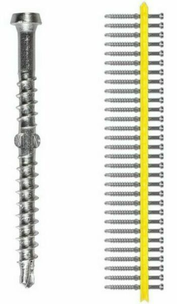 Simpson Strong-Tie GALVANISED DECKING COLLATED SCREWS 10gx60mm 1000Pcs*AUS Brand