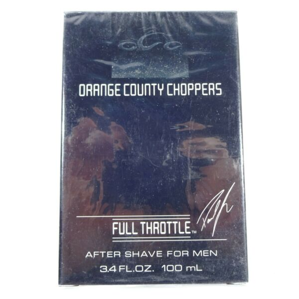 Orange County Choppers Full Throttle After Shave for Men 3.4oz 100 mL - SEALED