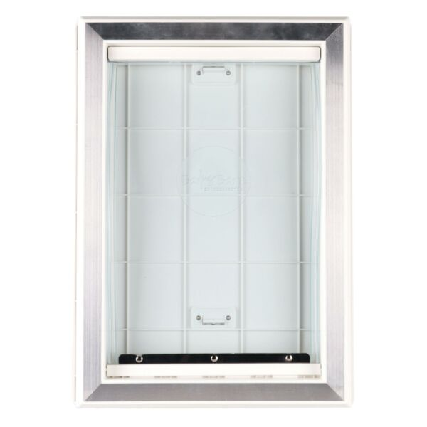 Extreme Weather Pet Door Dog Doors Exterior Cat Entry Large Dogs Heavy Duty M L $59.09