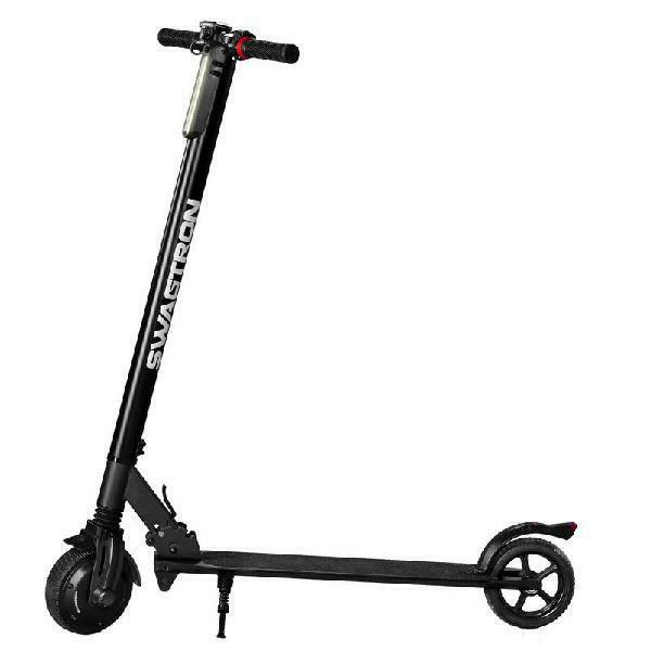 Classic Folding Solid Tire 200W Motor E-Scooter LED Light Power Electric Scooter