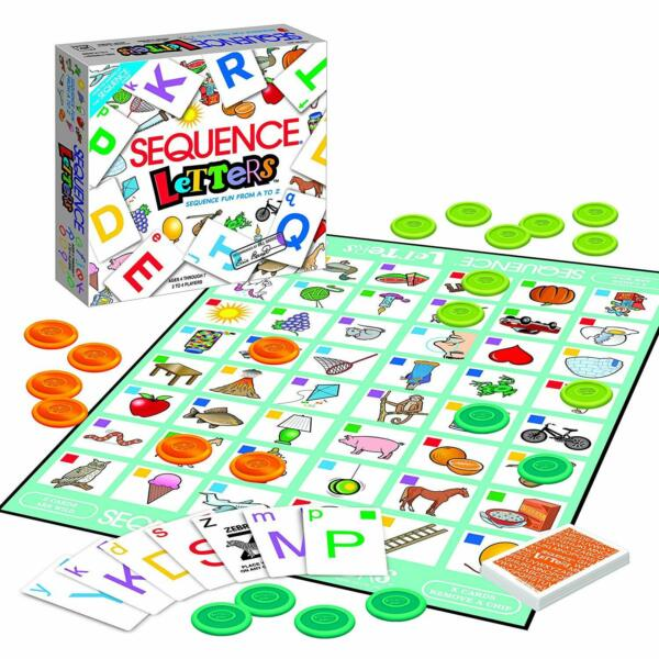 Sequence Letters Kids Educational Board Game Alphabet Learning for Age 4 5 6 7