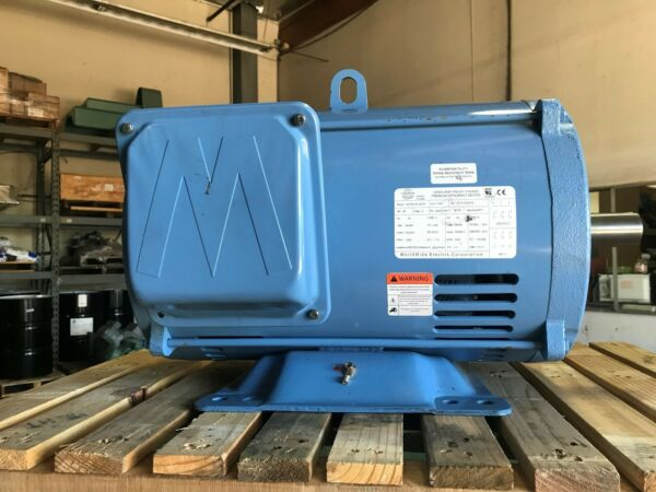 50 HP 3600 RPM MOTOR  -NEW-  324TS SHORT SHAFT PREMIUM EFFICIENCY