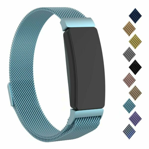 For Fitbit Inspire & Hr & Ace 2 Band Stainless Steel Replacement Metal Wristband