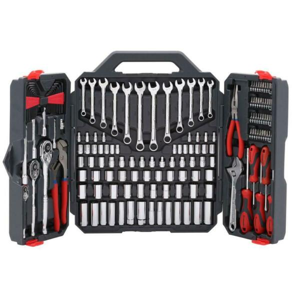Craftsman Tools 170-Piece Drive 6 &12 Point SAE/Metric Hand Mechanical Kit