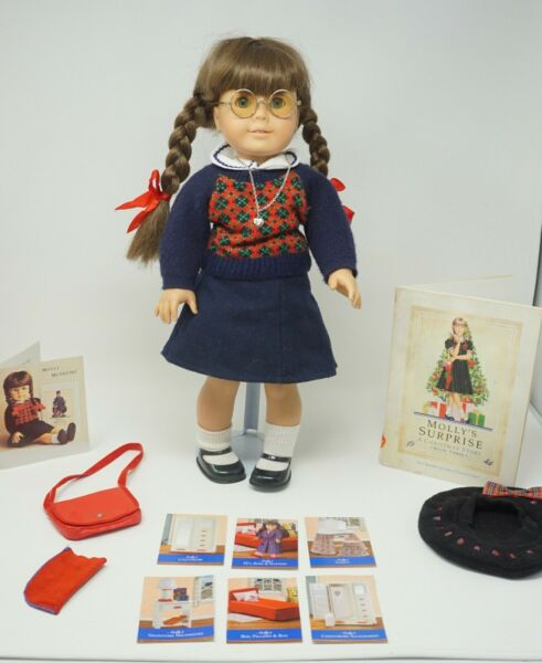 American Girl Doll Pleasant Company Molly With Extras