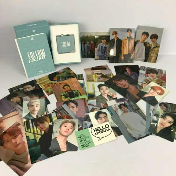 【MONSTA X】FOLLOW - FIND YOU UNSEALED KIHNO MEMBER PHOTO CARD SETS