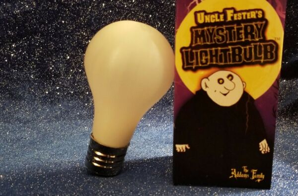 Addams Family Mystery Light bulb Uncle Fester