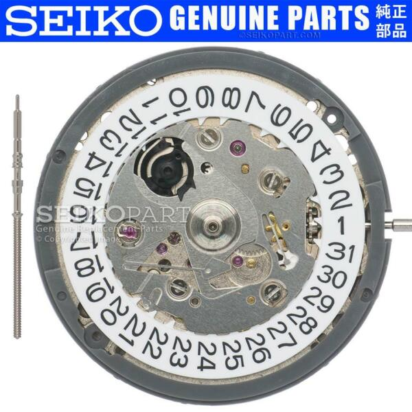 Seiko (SII) NH35 NH35A Automatic Watch Movement Date at 3 w White Date Disc $37.73
