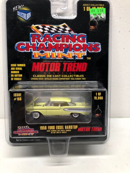 1958 Ford Edsel Hardtop - Racing Champions Mint - Motor Trend edition T